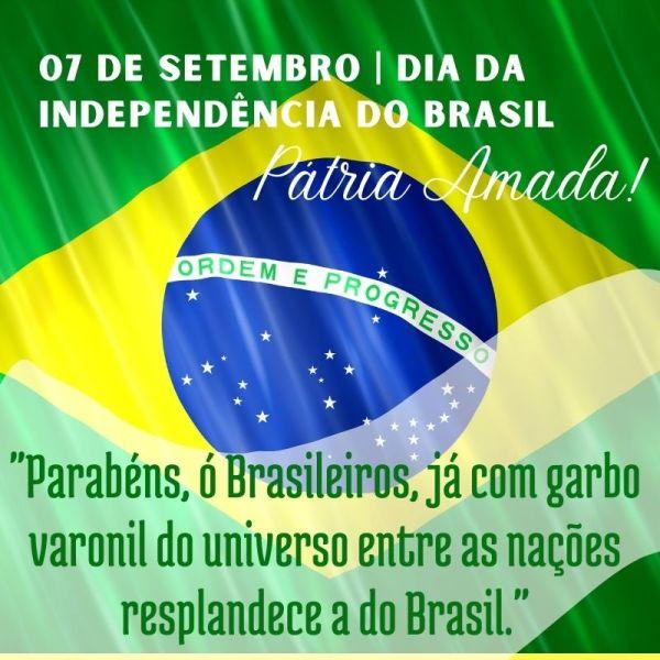 idependência do nosso Brasil 7 de setembro