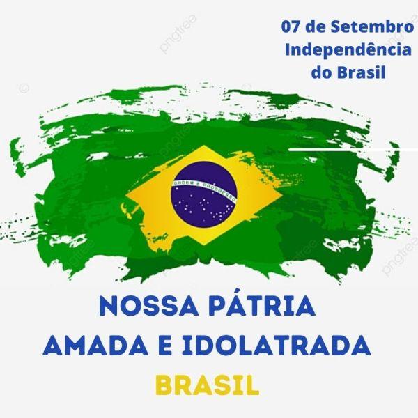minha pátria amada brasil