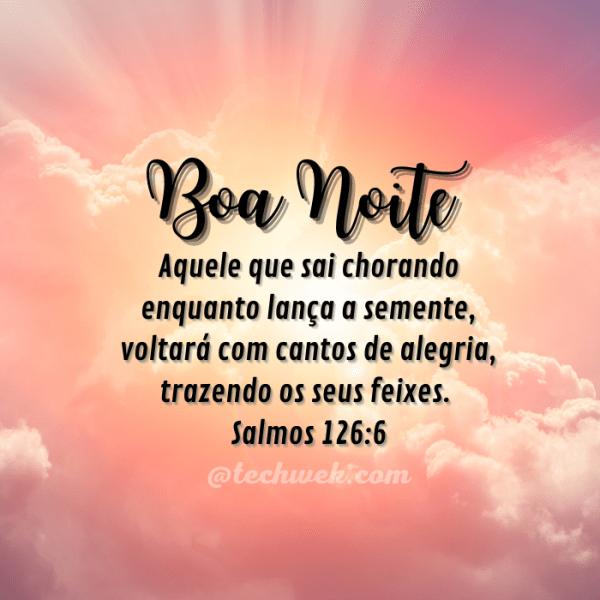 Imagens de Boa noite com Salmos