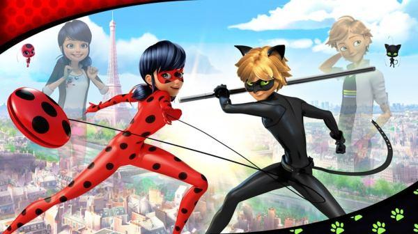 Ladybug é otimo para entreter as crianças
