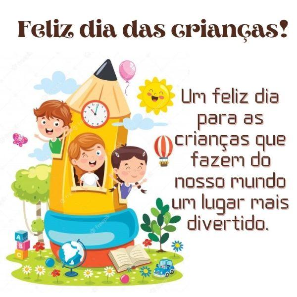 Imagens de feliz dia das crianças