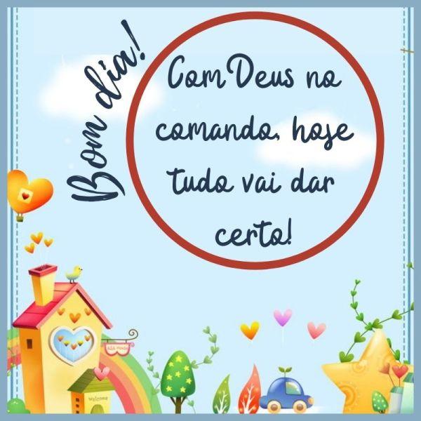 encantado bom dia com Deus