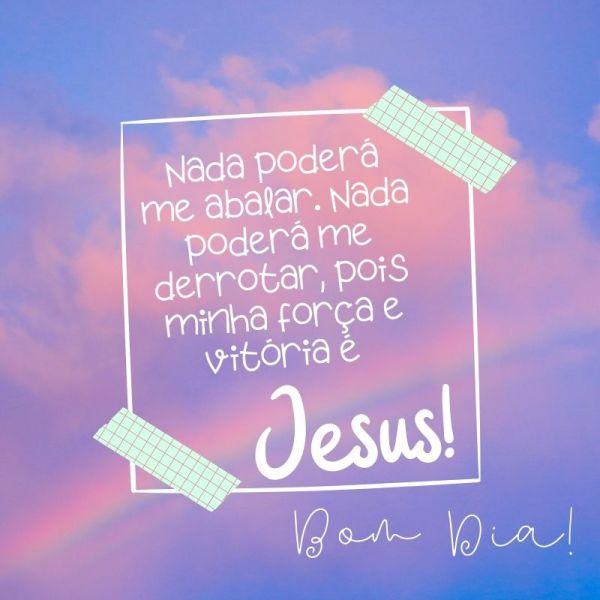 bom dia com benção de Deus