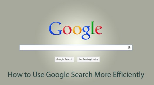 Google search engine can be used with higher efficiency.
