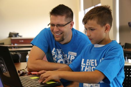 Brandon Coppernoll Coaching Child TechWise Academy