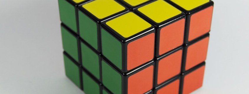 Rubik's Cube - Problem Solving - Photo from Pixabay.com - Author Pexels