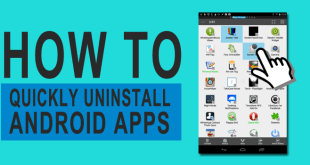 QUICKLY UNINSTALL ANDROID APPS