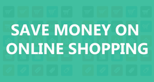 SAVE MONEY ON online shopping