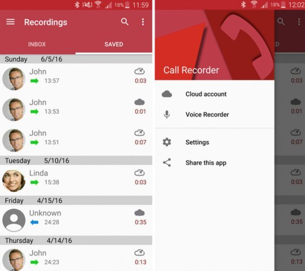 Record Phone call using Android App