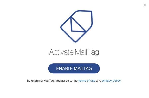activate MailTag