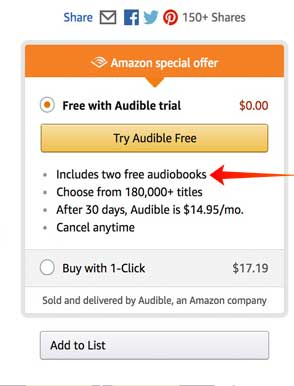 2 Free Audiobooks From Audible