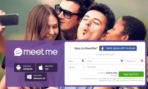 anonyme dating app