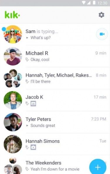 Anonymous sexting chat room
