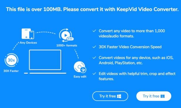 file size limit