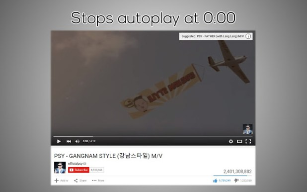 Stop Autoplay for Youtube™
