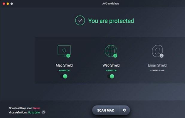 mac antimalware - avg
