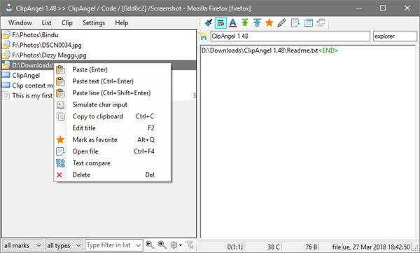 windows clipboard manager - clipangle