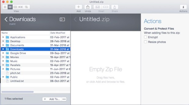 Zip Software For Mac And Windows