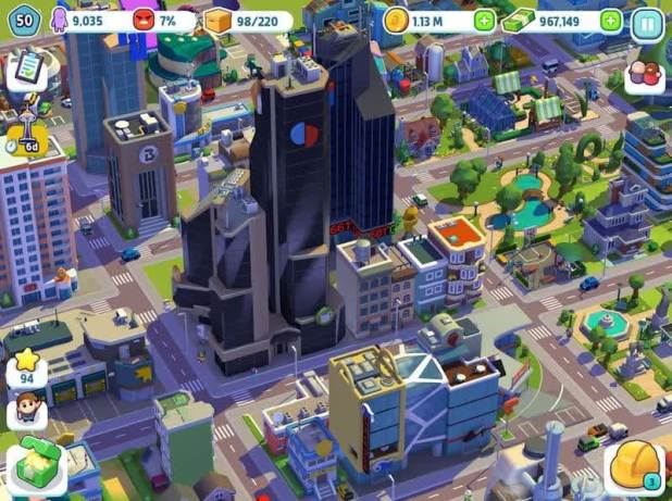 City Mania- Town Building Game