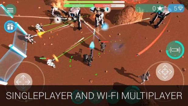 CyberSphere- SciFi Shooter