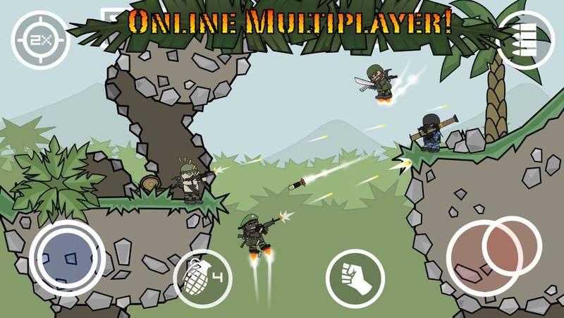 Doodle Army 2- Mini Militia