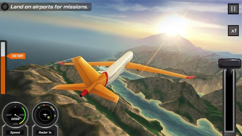 Fight Pilot Simulator 3D Free
