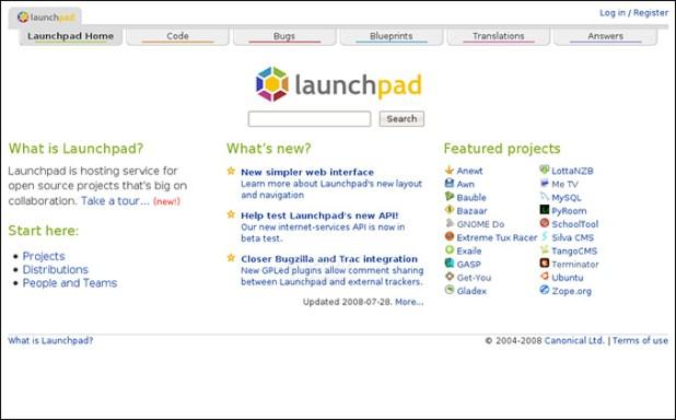 Launchpad Github Alternative