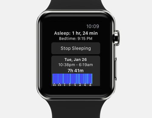sleep ++ apple watch sleep tracker app