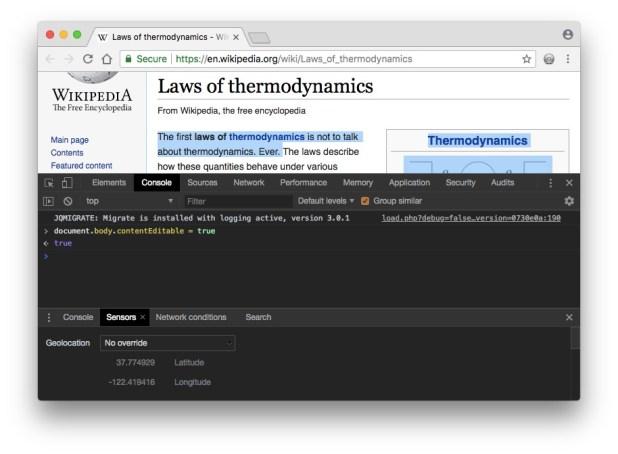 Edit a Web Page