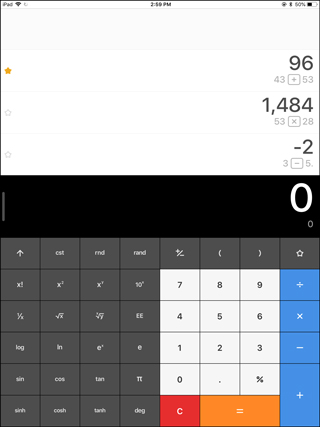 calculator app for ipad without ads