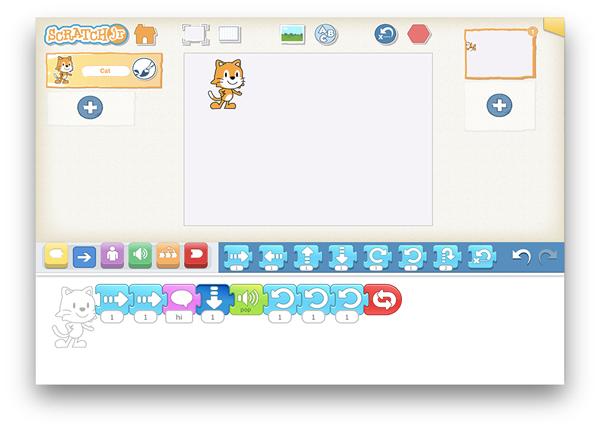 Scratch Jr- coding apps for kids