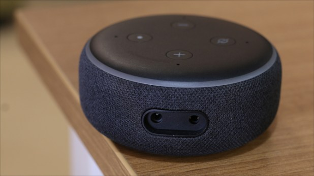 echo dot 3 v google home mini- audio jack on echo dot