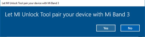 how to unlock windows with mi band- pair band with tool