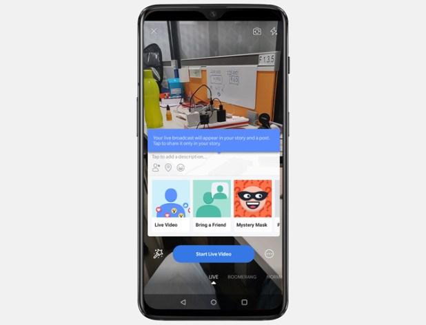 best live streaming apps- Facebook Live