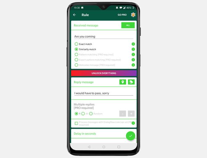automate text messages- autoresponder