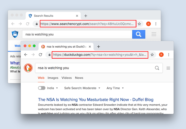 searchEncrypted_DuckDuckGo_Comparison - Best Private Search Engines