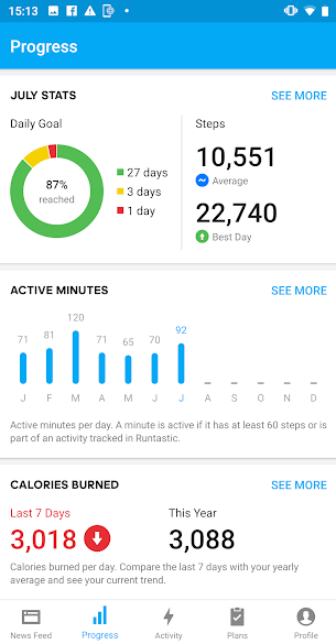 Step Counter or Pedometer Apps for Android 7