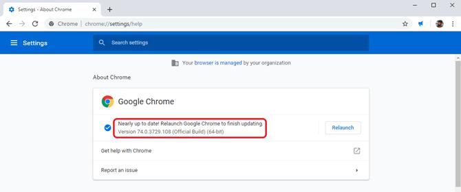 custom background on Google Chrome- chrome version