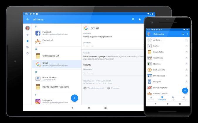 1password-family - Best Couple Apps for Long Distance Relationship