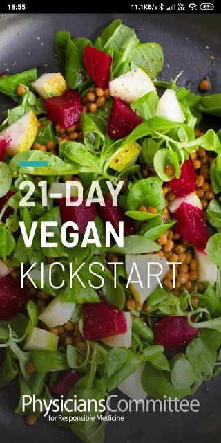 21 day vegan kickstart program