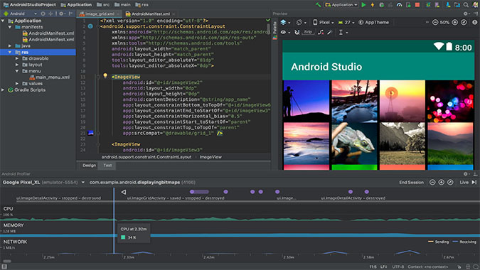 Android Studio on Chromebook