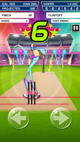 stick cricket batting