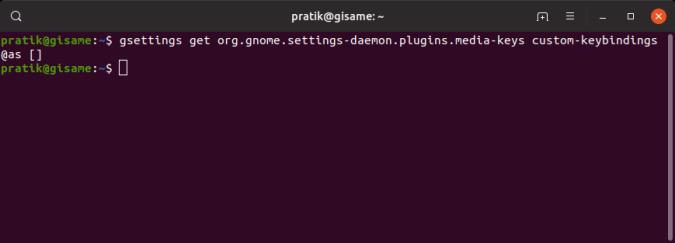 check-custom-key-bindings-list - custom keyboard shortcuts ubuntu