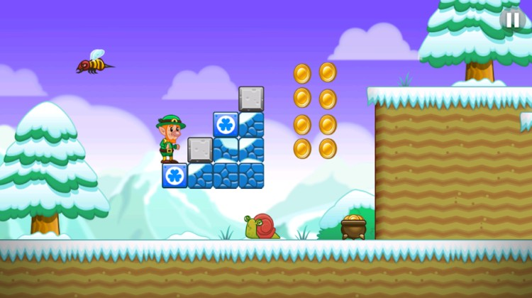 lep's journey in mario themed world