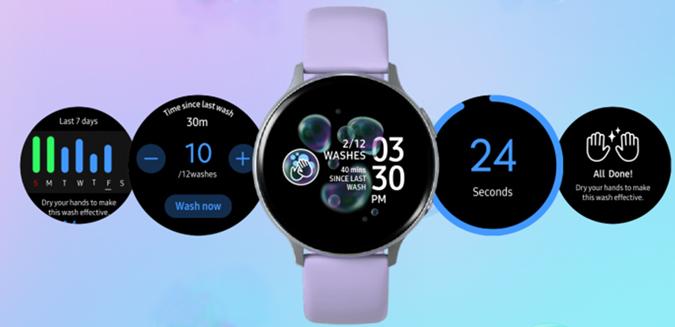 Hand Wash for Samsung Smartwatch