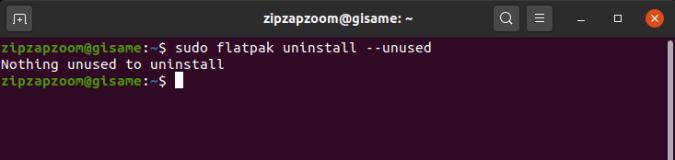 flatpak_unused_removal