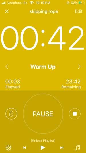 interval timer workout timer