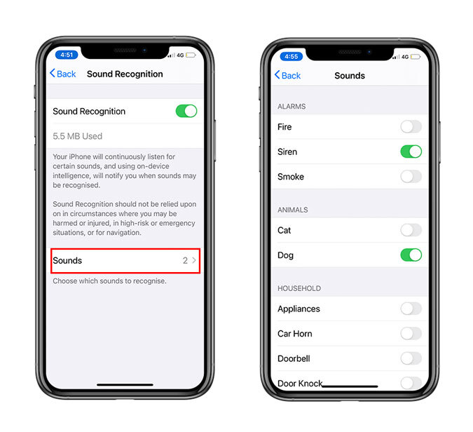 Sound Recognition on iOS 14
