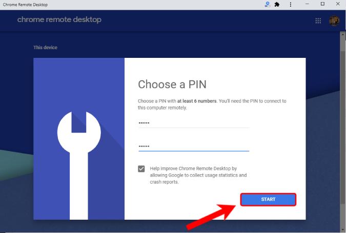6-digit-PIN-setup-for-chrome-remote-desktop