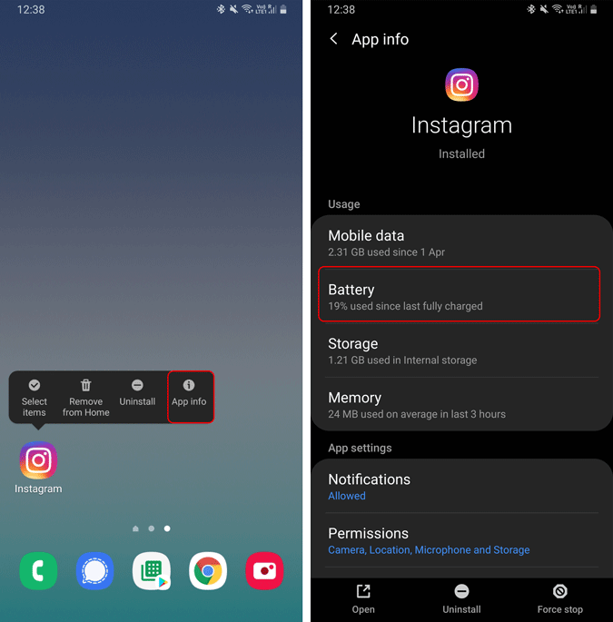 app-info-and-battery-usage